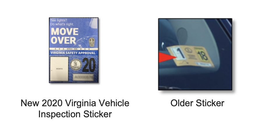 Va  Vehicle Inspection Stickers Updated for 2019 | Tysons