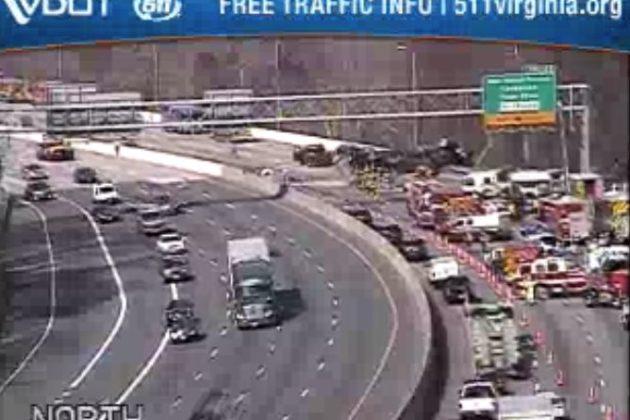TRAFFIC ALERT: Beltway Crash Is Causing Gridlock Across the Area
