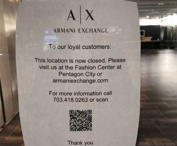 armani exchange store